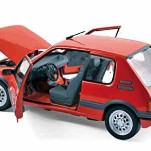 Miniature PEUGEOT 205 GTI 1.6L 1988 Rouge