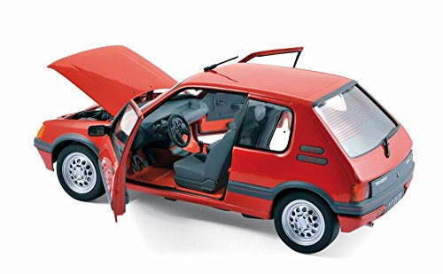 miniature peugeot 205 gti 1 6l 1988 rouge voitures youngtimers. Black Bedroom Furniture Sets. Home Design Ideas