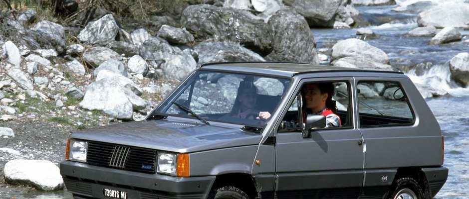 Fiat Panda 4x4 voitures youngtimers