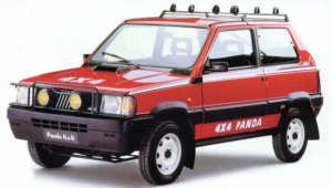Fiat Panda 4x4 Val d'Isère