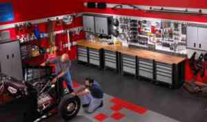 DECOGARAGE, dalles de sol et aménagement de garage