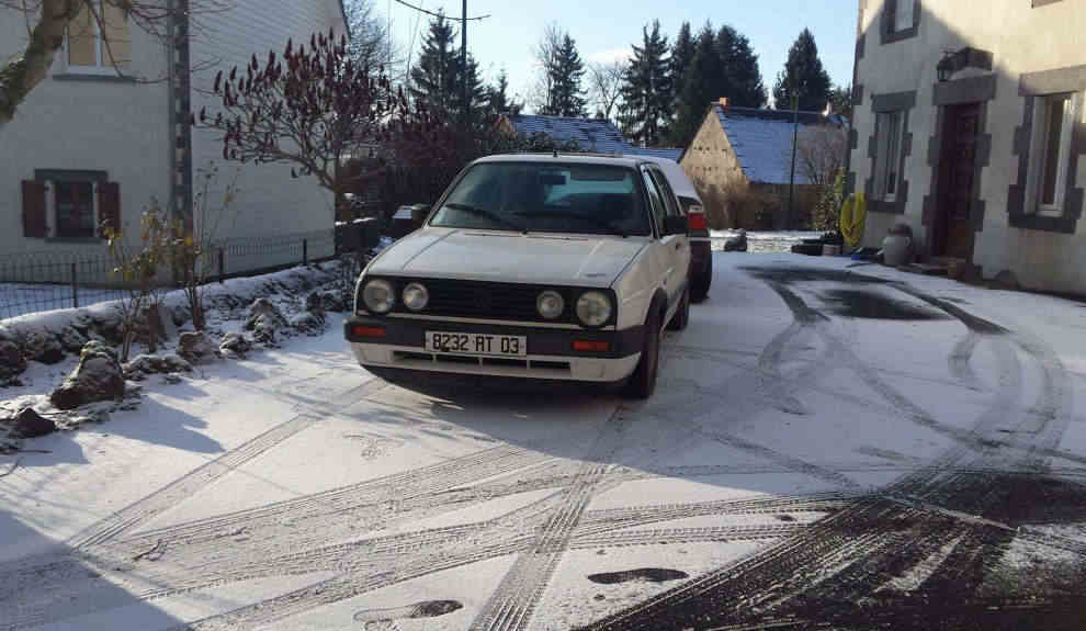 VW GOLF de 1989