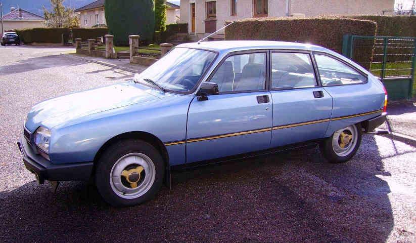 Citroën GSA X3 de 1980