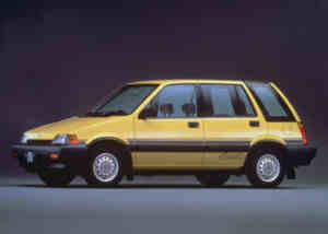 Honda Civic Shuttle 4WD youngtimer