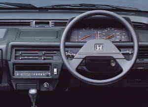 Planche de bord de la Honda Civic Shuttle 4WD