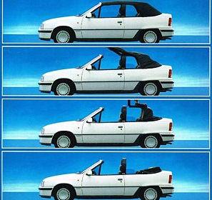 Opel Kadett Cabriolet, sympa et pas cher
