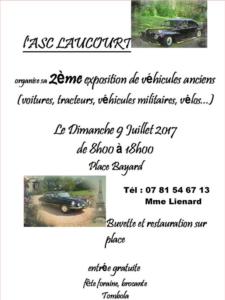 2ème rassemblement voitures anciennes à Laucourt 80