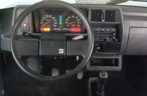 Intérieur de la Seat Fura