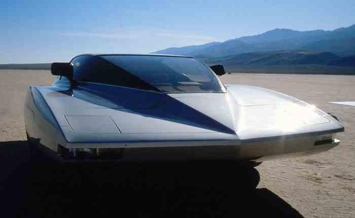 Turbo Phantom, un véhicule surprenant des années 80