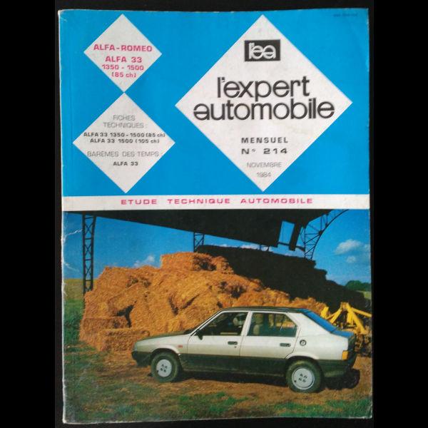 Revue l'Expert Automobile Alfa 33