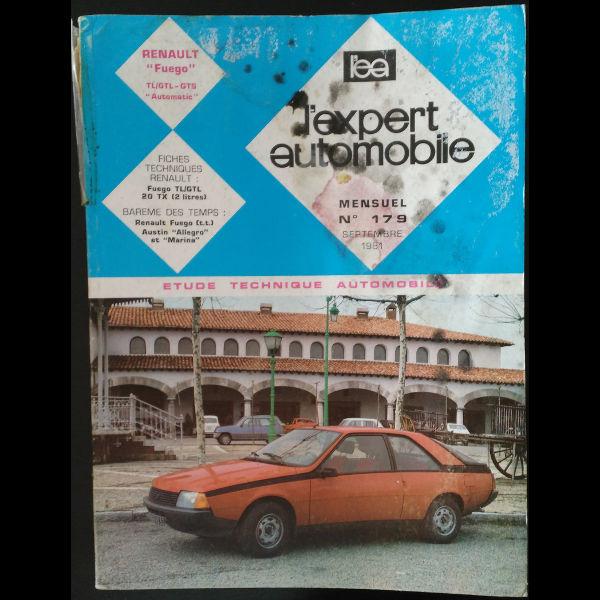 Revue l'Expert Automobile Renault Fuego