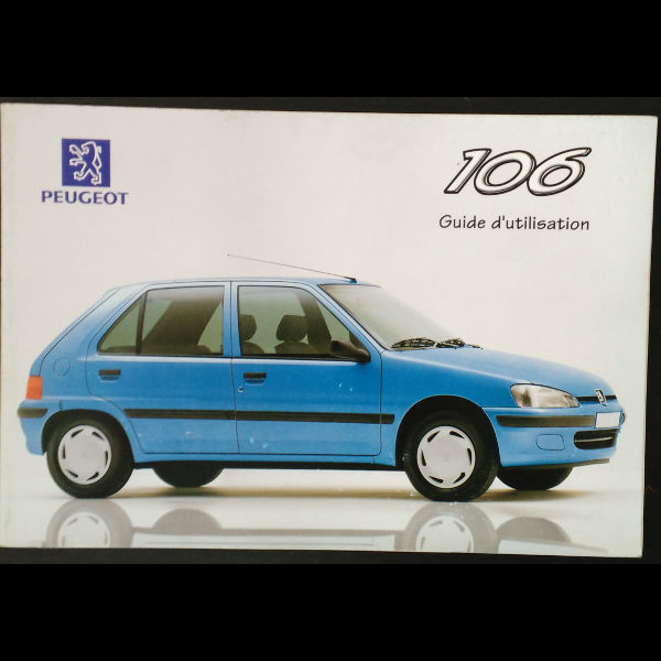 Guide d'utilisation Peugeot 106