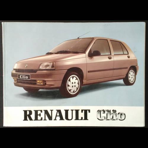 Notice d'utilisation Renault Clio