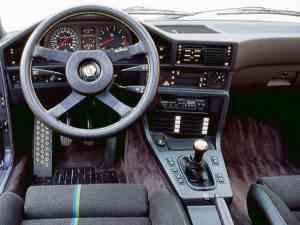 Intérieur Alpina B10 3.5 E28 261ch