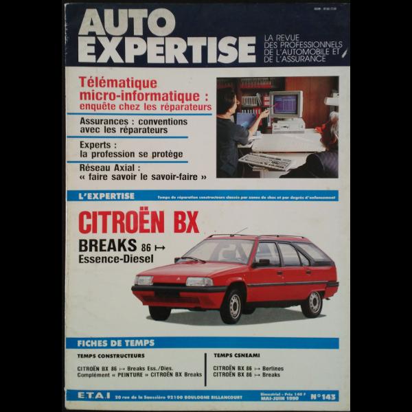 Revue Auto Expertise Citroën BX Breaks