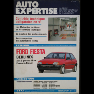 Revue Auto Expertise Ford Fiesta 3 et 5 portes