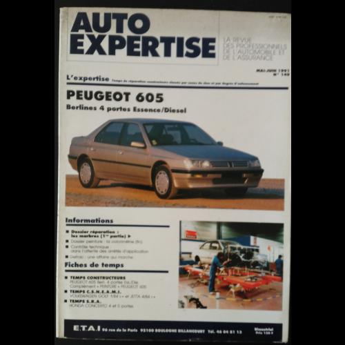 Revue Auto Expertise Peugeot 605