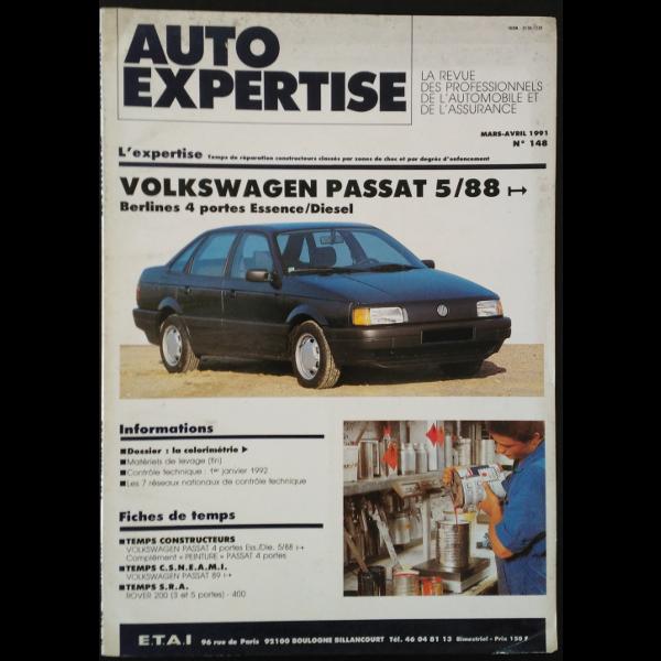 Revue Auto Expertise Volkswagen Passat