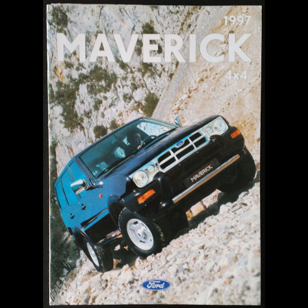 Brochure Ford Maverick 1997