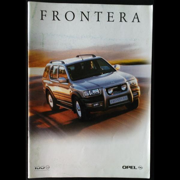 Brochure constructeur Opel Frontera 1999