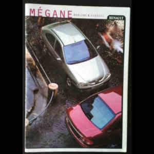 Brochure constructeur Renault Mégane