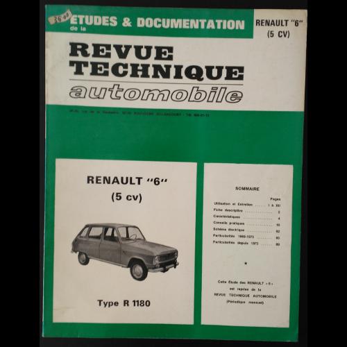 RTA Renault 6 type R 1180