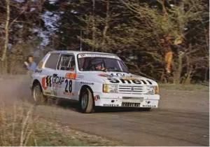 Talbot Samba Rallye voitures youngtimers