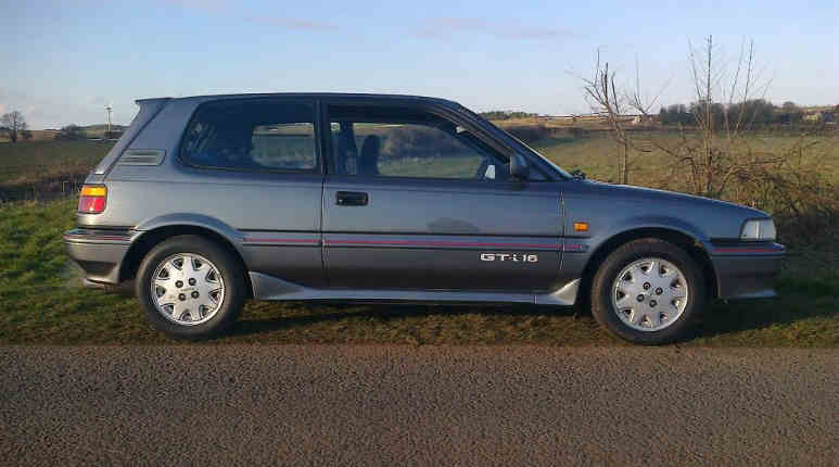 Toyota Corolla GT-I 16 youngtimer