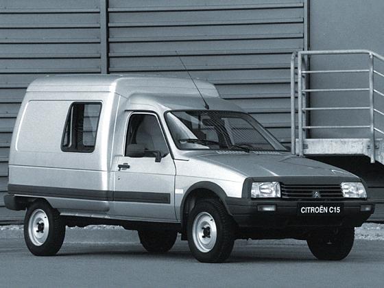 Citroën C15 fourgonnettes youngtimer