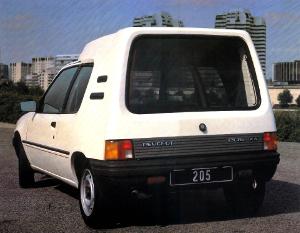 Peugeot 205 Multi