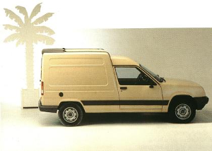 Renault Express fourgonnettes youngtimer