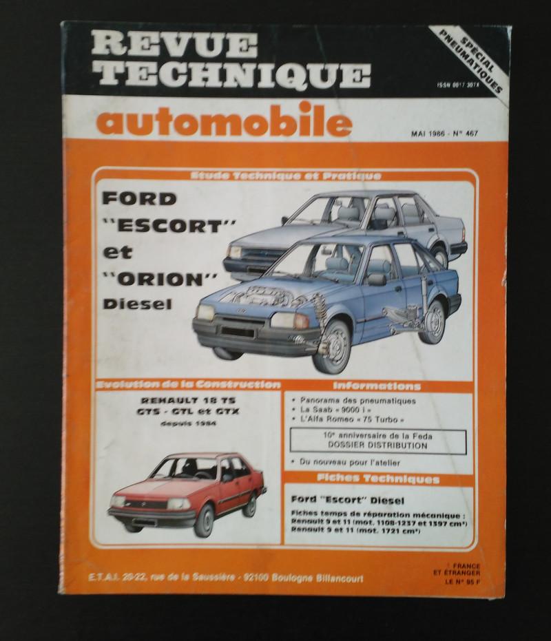 RTA Ford Escort et Orion Diesel