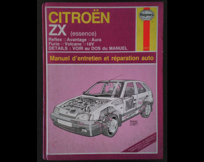 Revue Technique Haynes CITROEN ZX essence