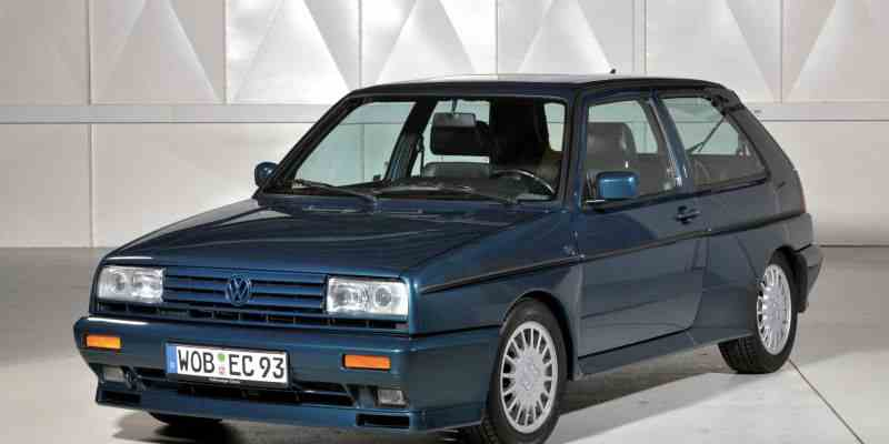 VW GOLF RALLYE G60