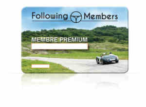 carte de membre FOLLOWING-MEMBERS
