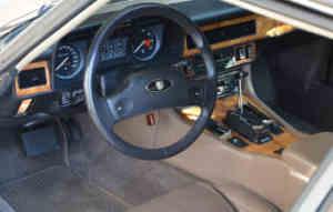 Jaguar XJ-S 3.6 intérieur