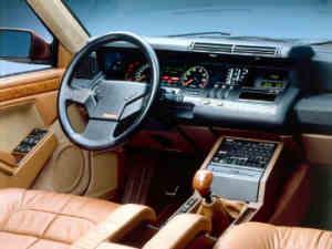 Renault 25 BACCARA intérieur