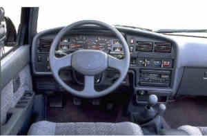 Toyota Runner V6 planche de bord
