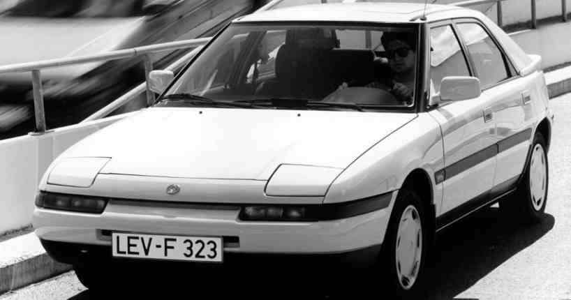 Mazda 323 GT 16 soupapes 140 ch