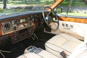 Rolls-Royce Camargue intérieur