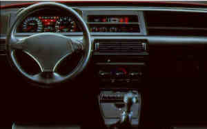 Fiat Tipo 2.0 16V intérieur