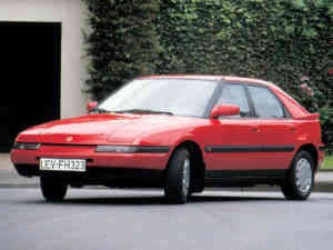 Mazda 323 GT youngtimer