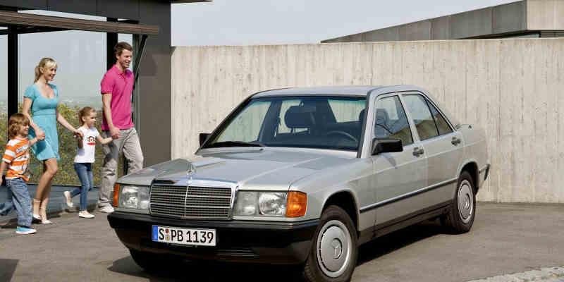 Mercedes 190 E 122 ch