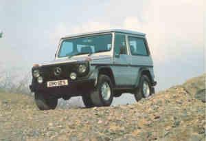 Mercedes 280 GE 3 portes