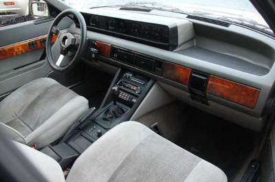 Rover Vitesse SD1 intérieur