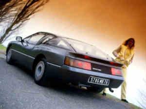 Alpine V6 GT carburateurs