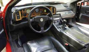 Intérieur Lotus Turbo SE