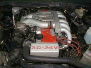 Opel Omega 24 V moteur