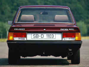 Peugeot 505 GTI youngtimer