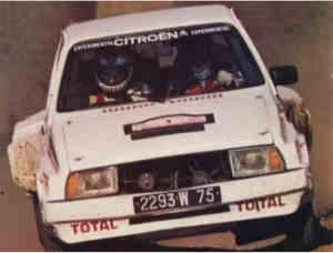 Proto Citroën Visa Strakit